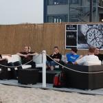 Stammtisch auf dem City Beach Club am 2010-07-02