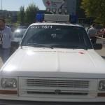 SATCOM-Fahrzeug des BRK