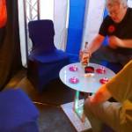 Der Tisch für längere Gespräche