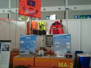 Messestand in Betrieb