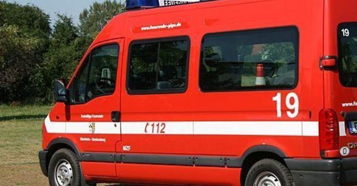Mehrzweckfahrzeug der Feuerwehr Ginsheim-Gustavsburg - bald Notfunk Deutschland Einsatzfahrzeug