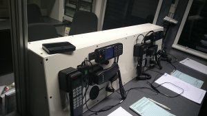 THW-Führungsstelle - Funkarbeitsplätze